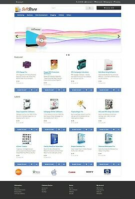 Software Store Website For Sale 100 Software Preloaded Free Hosting