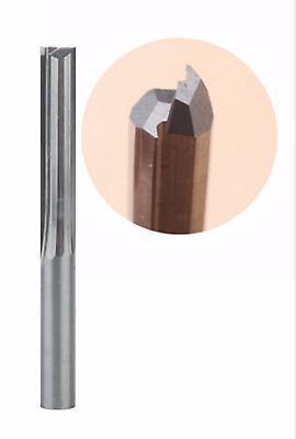 6mm Dia 22mm CL Spiral Tool 2 Flute Up Cut Tools Solid Carbide Cutter CNC PVC 2F