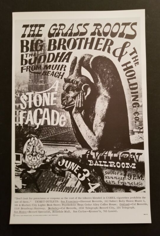 Grass roots & Big Brother and The Holding company  Poster