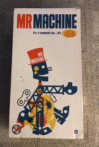 IDEAL  MR MACHINE  ASSEMBLED AND BOXED  4844-7  ORIGINAL  1960