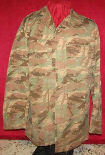 SADF, RECCE, 32 BATTALION WINTER PATTERN OVER-JACKET AND PANTS