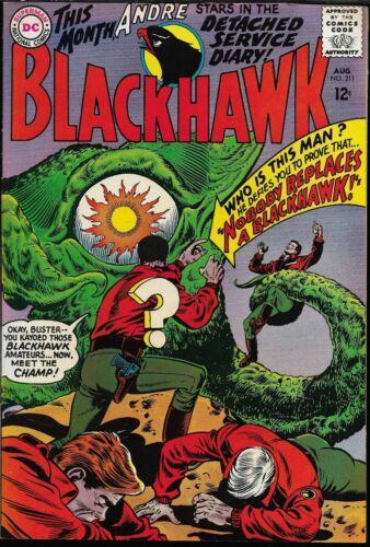 BLACKHAWK #211-220 (DC Comics, 1965-1966) - 10 consecutive issues