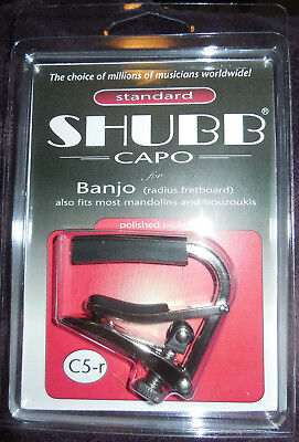 Bouzouki New NIB Free Shipping Mandolin Shubb L5 Red Lite Capo For Banjo