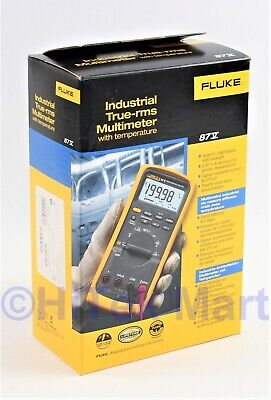 New Fluke 87v Industrial Electrician True Rms - Mfd Octnov 2020