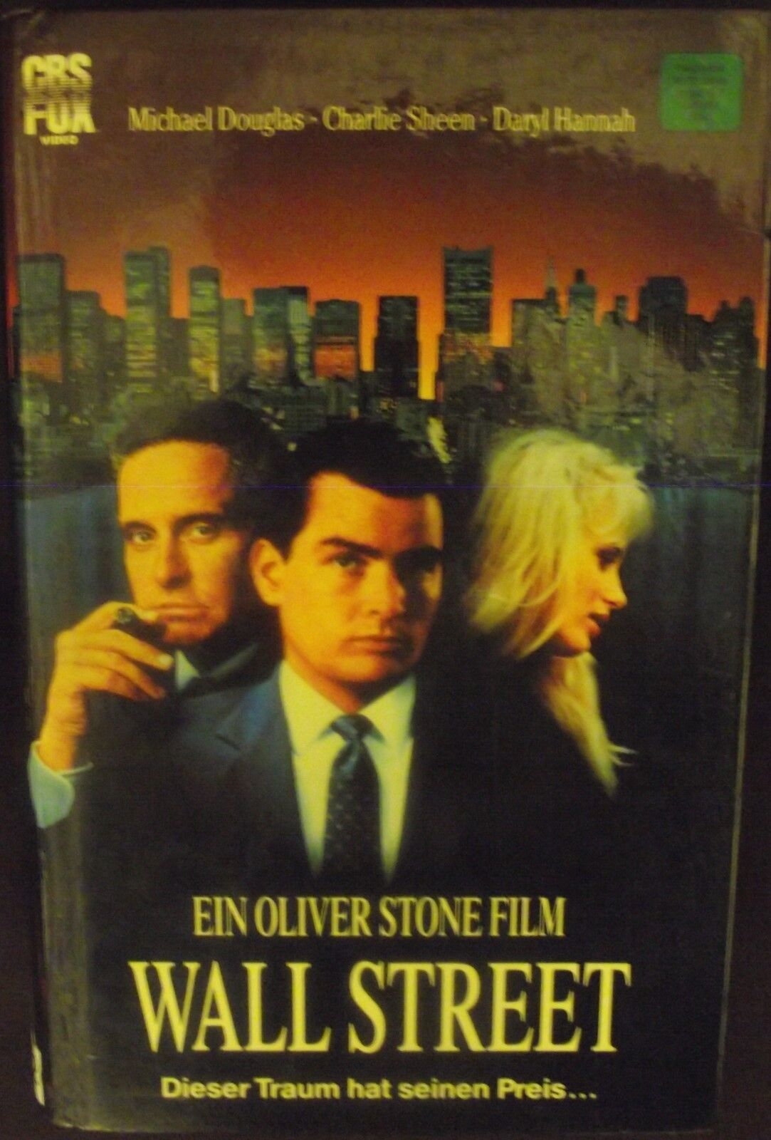 Wall  Street * KULT * Michael  Douglas * Charlie Sheen * Martin Sheen * TOP HIT