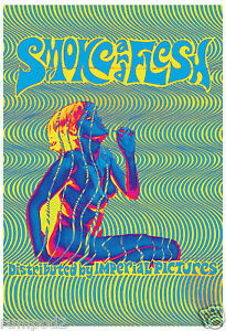Movie Poster/Vintage Poster/60's - 80's/'Smoke and Flesh' Psychedelic Poster