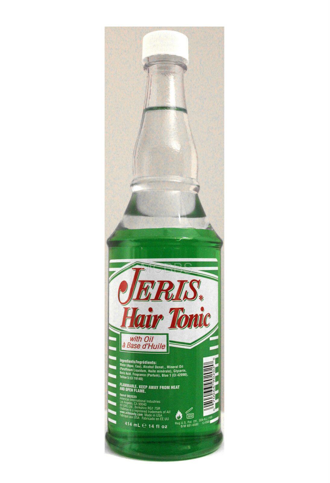 Clubman Jeris Hair Tonic (with Oil) 12 Fl. Oz.