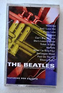 The-Beatles-Instrumental-Jazz-Tribute-2k-Ron-Eschete-New-Htf-Cassette-Sugo