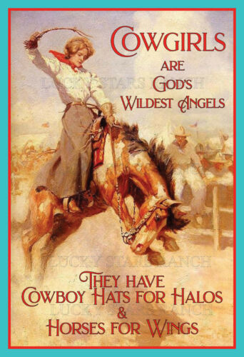 Cowgirl - Cowgirls are God