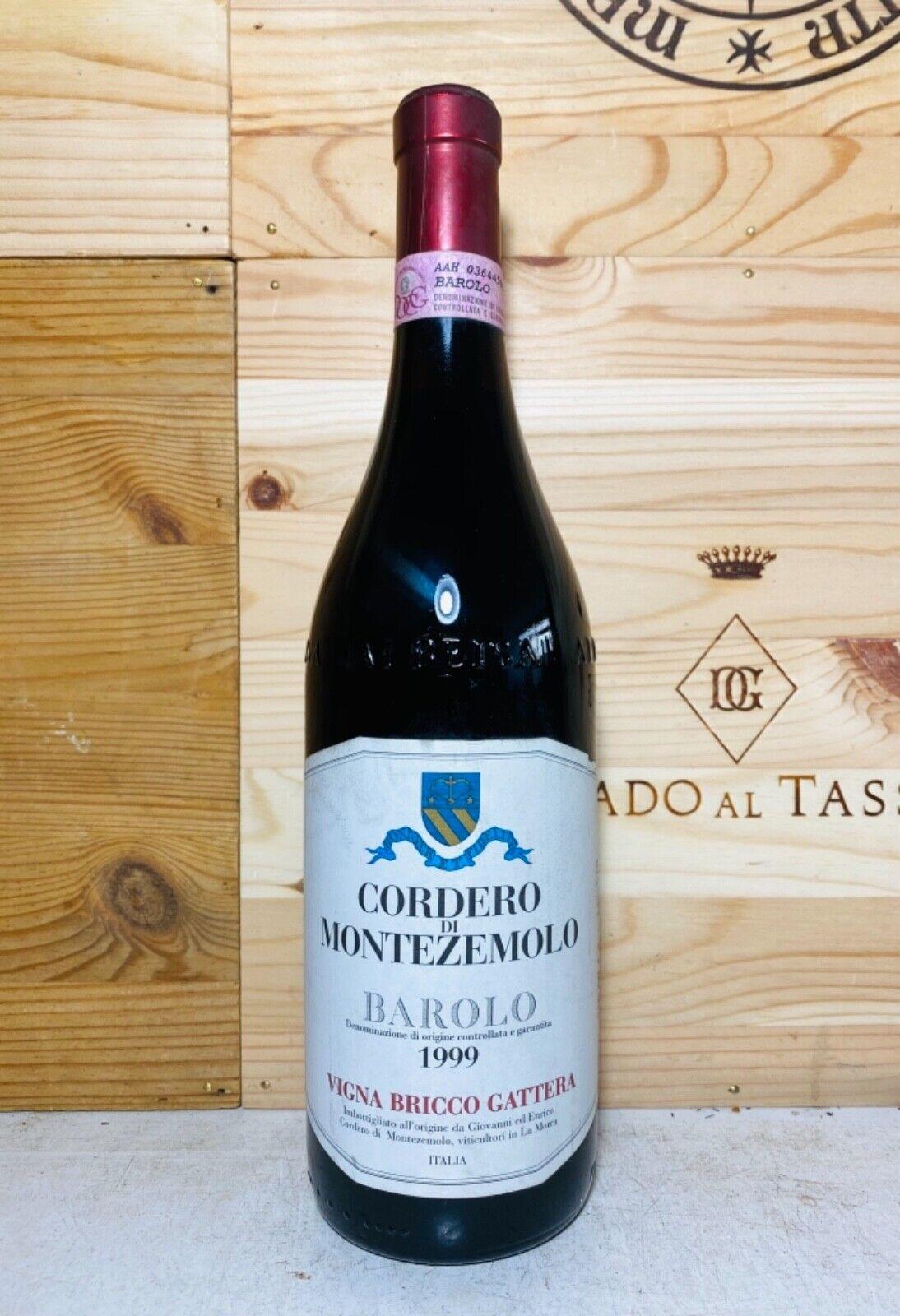 1999 Cordero di Montezemolo Barolo Vigna Bricco Gattera,
