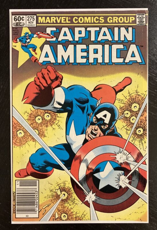 Captain America #275 Newsstand 1st Baron Zemo II Falcon & Winter Soldier Disney+
