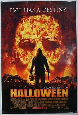 Halloween - original movie poster 27x40 - Rob Zombie Horror