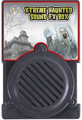 HALLOWEEN XTREME HAUNTED SOUND FX BOX PROP DECORATION HAUNTED HOUSE - Xtreme Sound Box