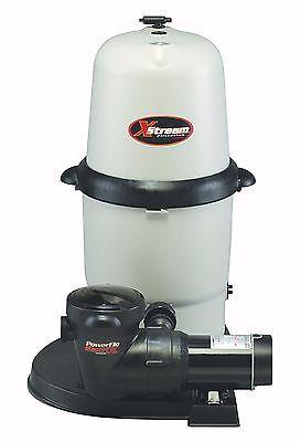 Hayward XStream CC15093S Above Ground Swimming Pool Cartridge Filter w/ Pump Xstream Cartridge Filter