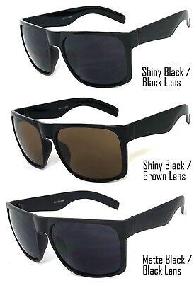 1 oder 2 Paar Retro Groß Quadratische Sonnenbrille Herren Damen Super Dunkle