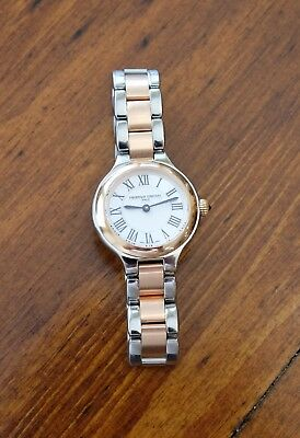 Frederique Constant Delight Ladies Rose Gold / Stainless Watch - Preowned