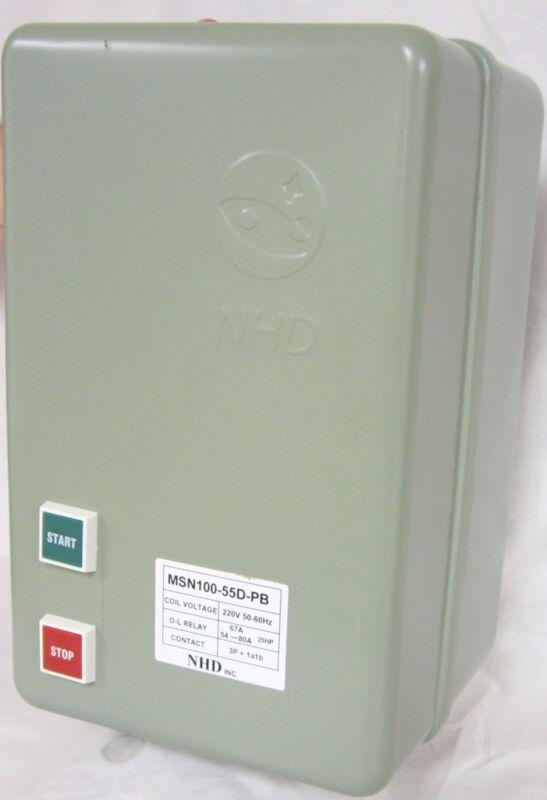 Magnetic Starter 460V 3 Phase 50HP