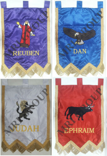 Royal Arch Banners, ROYAL ARCH MASONRY CHAPTER BANNERS, RAM Embroidery Banner 1