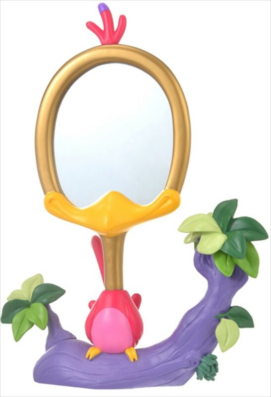 Disney Store Japan Bird Mirror Stand Alice in Wonderland Figure Alice Lover New