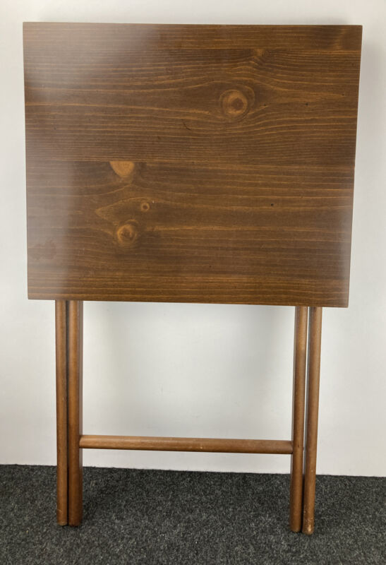 """Scheibe Folding TV Table Tray Table - 17.5"""" X 14.75"""""""
