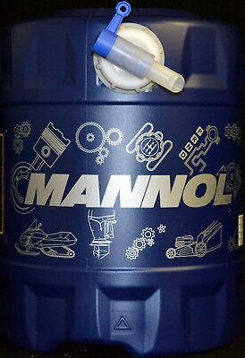 20 Liter Mannol Kettenhaftöl Kettenöl Kettensägeöl Motorsägenöl + Auslaufhahn