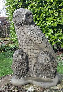 Stone Garden Owls eBay