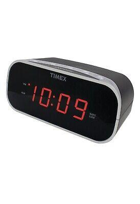 Timex Audio T121B Alarm Clock with .7 Red Display (Black)