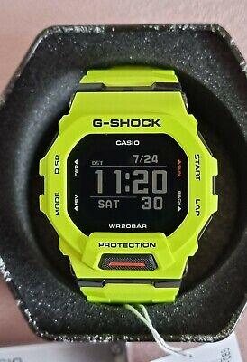 Brand new G shock GBD-200-9 Bluetooth smartwatch lime green