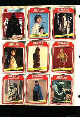 1980 Topps Empire Strikes Back Star Wars cards series 1 EXCELLENT++++ Condition