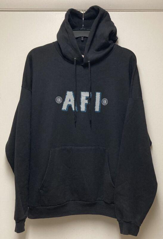 Vintage AFI A Fire Inside very Proud Of Ya Punk Hoodie East Bay Hard Core XXL