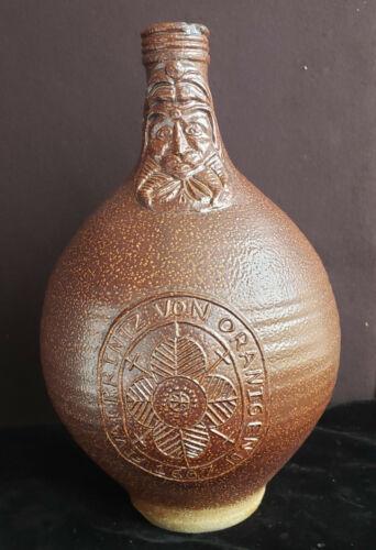Old Stoneware Jug with Face, Fruvat Printz Von Oranigen 1607. German