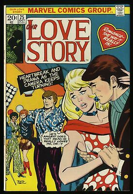 Our Love Story #25 VF+ 8.5