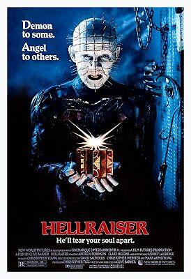 HELLRAISER (1987) ORIGINAL MOVIE POSTER  -  ROLLED