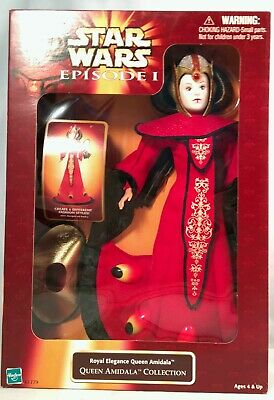 """Star Wars Episode 1 Hidden Majesty Queen Amidala Collection 11/"""" Disguise Padme/'"""