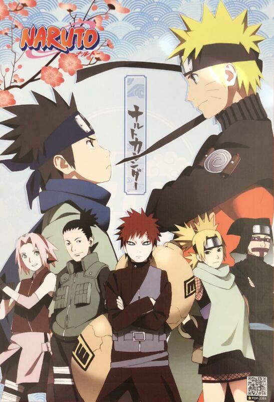 Japanese Anime NARUTO Shippuden Poster #E2 Sasuke Kakashi Sakura