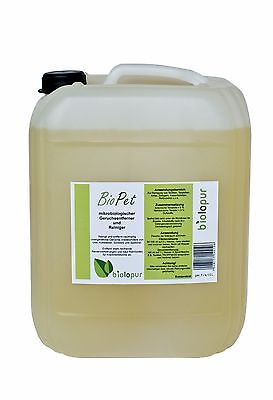 Biolopur BioPet Geruchsentferner 10 Liter KONZENTRAT mit Mikroorganismen