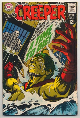 Beware the Creeper #6 (1969) Very Fine (8.0) ~ DC Comics ~ Gil Kane Cover