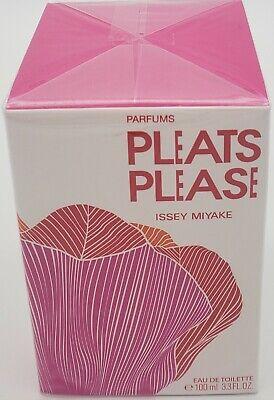 Pleats Please by Issey Miyake 3.3oz EAU DE TOILETTE (NEW IN SEALED BOX)