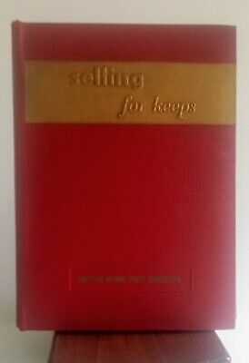 "VTG ""Selling for Keeps"" Chrysler Motors 3-Ring Training Binder Parts Sales EVC"