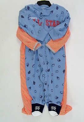 - Carters Boys s One Piece Footed Pajamas Set of 2, All Star- Dog, 6 Month 9 Month