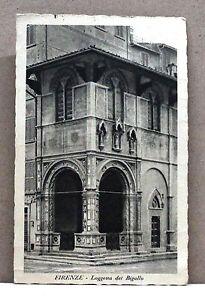 Firenze - Loggetta del Bigallo [piccola, b/n, viaggiata] - Italia - L'oggetto può essere restituito - Italia