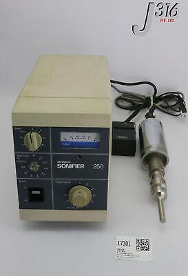 17301 Branson Ultrasonic Cell Disrupter 100-132-135 Ps Bio Sonifier 250