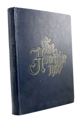 United States Military Academy West Point Howitzer Military Yearbook Vtg 1950 !!