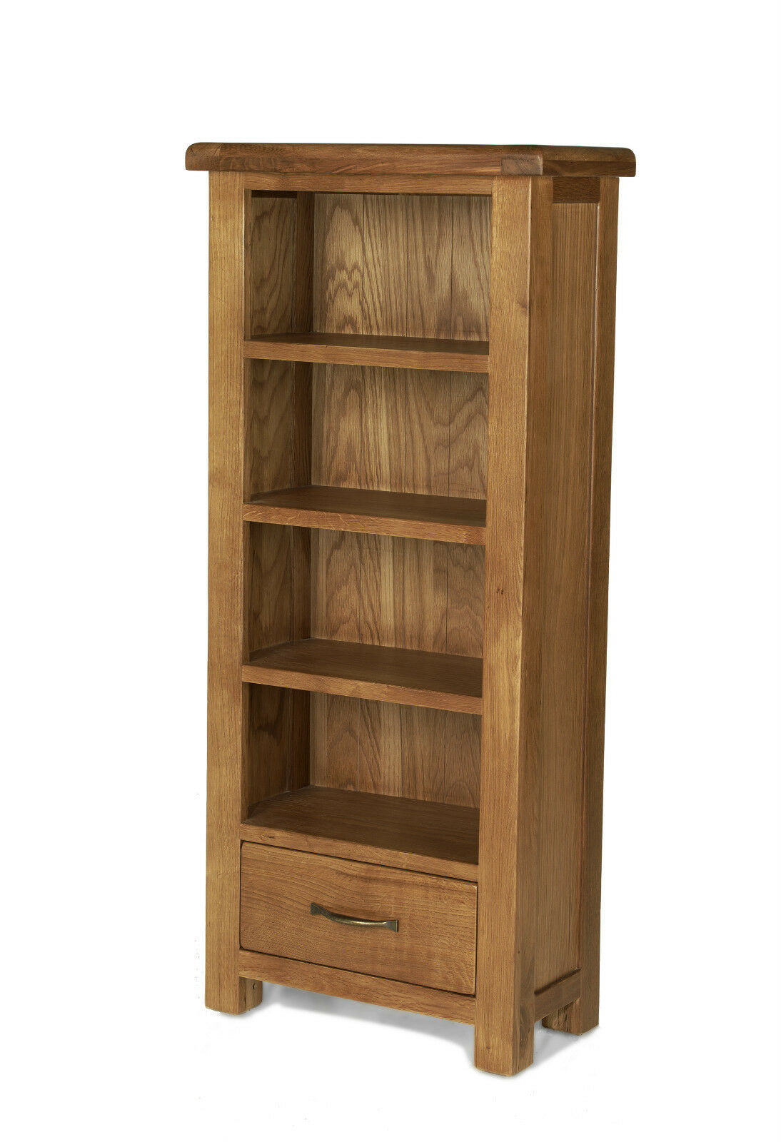 Marvelous photograph of  CHUNKY WOOD RUSTIC OAK NARROW OPEN BOOKCASE CD DVD CABINET eBay with #482F18 color and 1094x1600 pixels