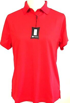 MUNSINGWEAR RN 37763 – Women's Red Polo Shirt - Size: MEDIUM