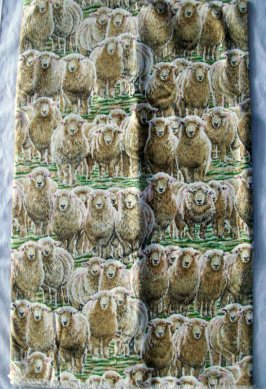 Andover Quilt Craft Fabric Hello Dolly Lambs Ladyfingers Studio Pattern #2186