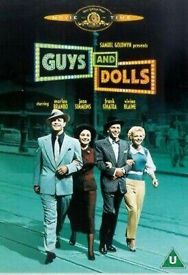 Guys And Dolls DVD Musical Film Movie Marlon Brando  Frank Sinatra ()
