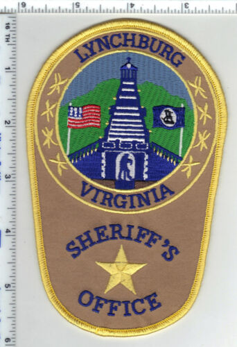 Lynchburg Sheriff (Virginia) 4th Issue Shoulder Patch