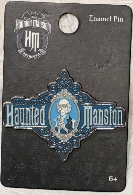 Disney Loungefly Haunted Mansion Cameo Enamel Pin Master Gracey
