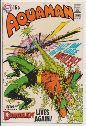 Aquaman #50 DC Comics 1970 Deadman, Neal Adams